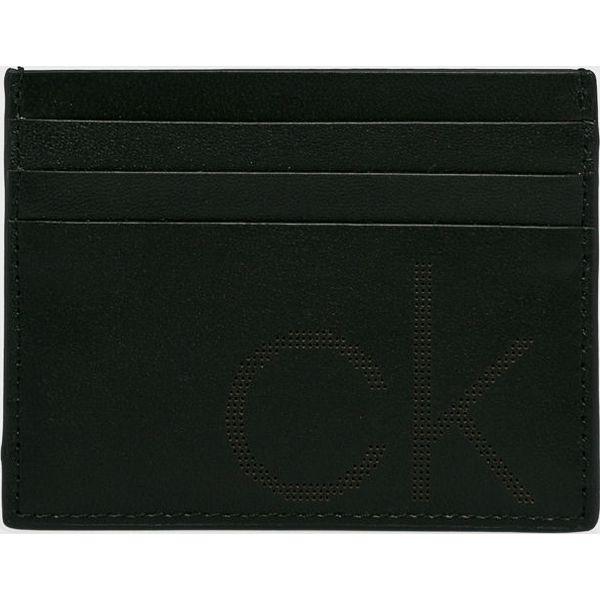 d10f5dc038423 Calvin Klein - Portfel skórzana - Czarne portfele męskie marki Calvin Klein,  z materiału. Za 159.90 zł. - Portfele męskie - Akcesoria męskie - Akcesoria  ...