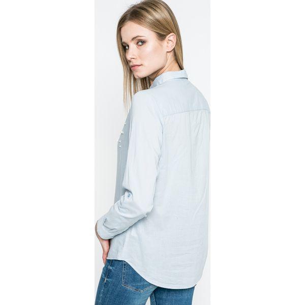 cde143a04bfe27 Only - Koszula - Szare koszule damskie ONLY, s, w paski, z bawełny ...