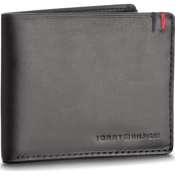 bddc6b6ab252d Duży Portfel Męski TOMMY HILFIGER - Burnished Mini Cc Wallet ...
