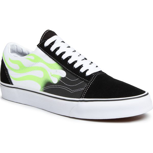 Tenisówki VANS Old Skool VN0A4U3BXEY1 (Flame) BlackTrue White