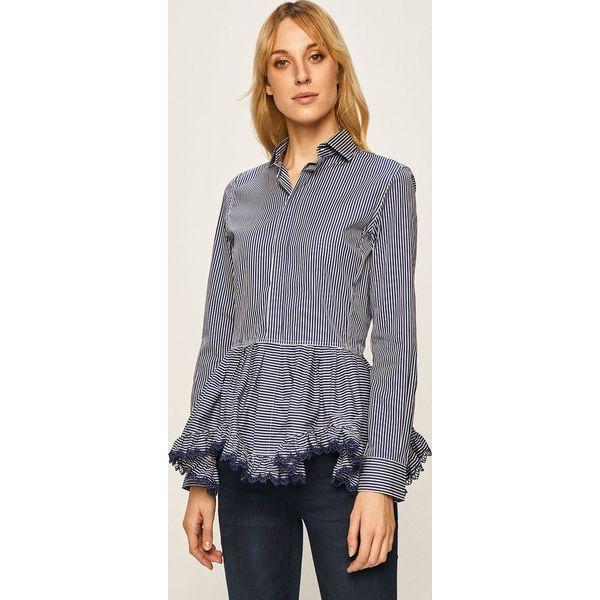 Polo Ralph Lauren Koszula Niebieskie koszule damskie  pT3uv