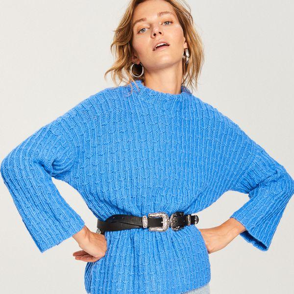 cf32de994f Sklep   Odzież   Odzież damska   Swetry damskie   Swetry nierozpinane  damskie - Kolekcja wiosna 2019