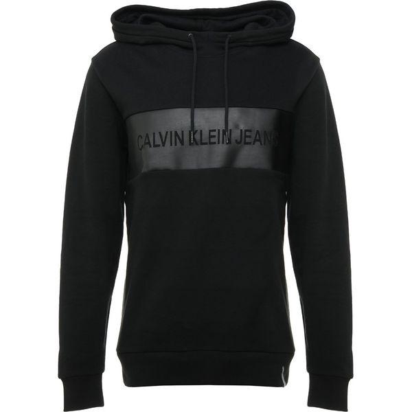 031e97f5894e1 Calvin Klein Jeans STRIPE CORE LOGO HOODIE Bluza z kapturem black - Bluzy  sportowe męskie marki Calvin Klein Jeans. Za 459.00 zł.