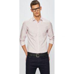 Czerwone koszule męskie Calvin Klein, bez kołnierzyka, z  Tq9zI