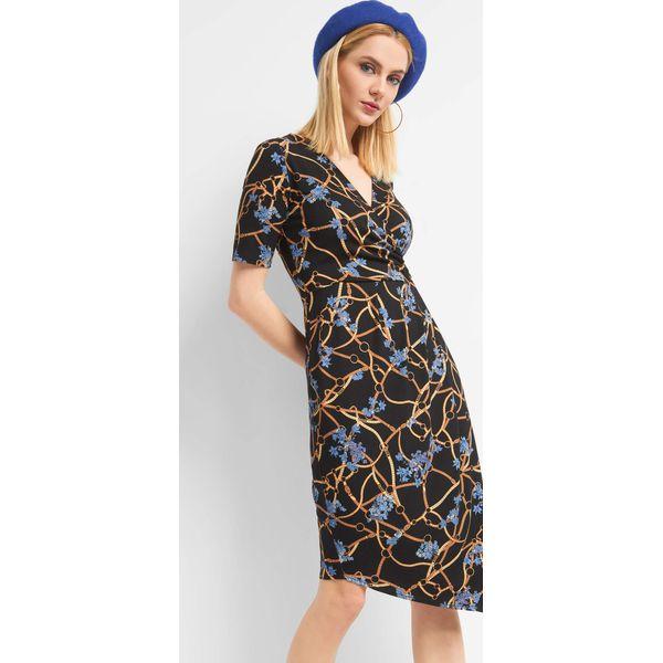 9f7ef29d87 Kopertowa sukienka w łańcuchy - Sukienki damskie marki Orsay. Za ...