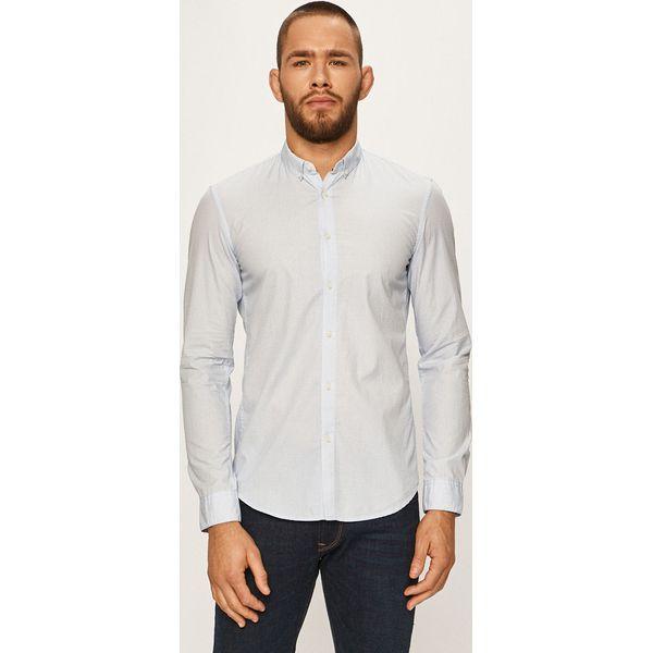 Tom Tailor Denim Koszula Niebieskie koszule męskie TOM  nwiDT