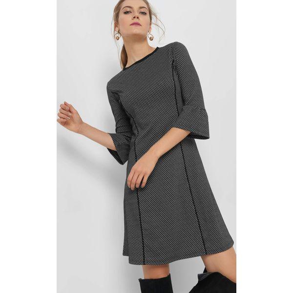 b9d9c32dab Trapezowa sukienka żakardowa - Sukienki damskie marki Orsay. W ...