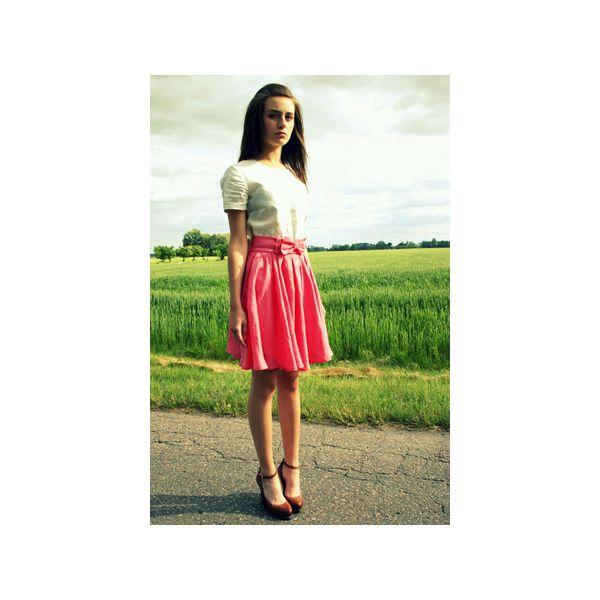 50711d64 Różowa spódnica z koła