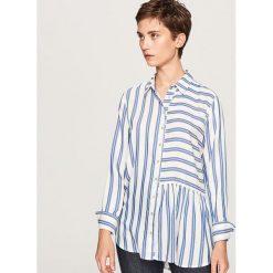 afe05422aa14a1 Koszula w paski - Niebieski. Koszule damskie Reserved. W wyprzedaży za  49.99 zł.