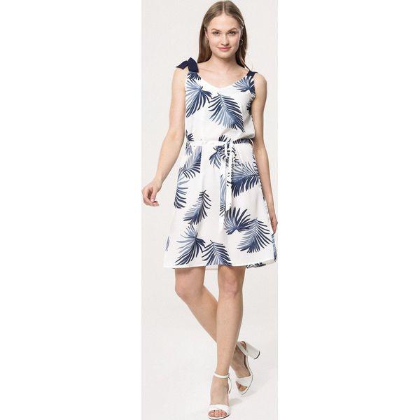 347113b4a2 Biała Sukienka Astral - Białe sukienki damskie marki Born2be