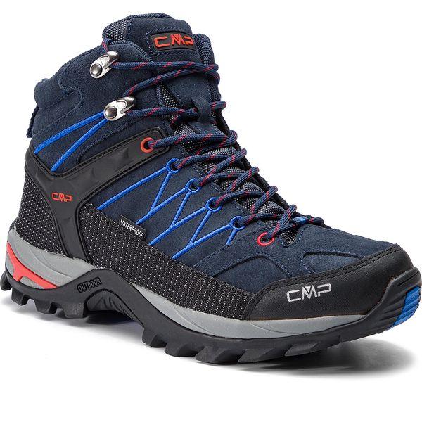 Trekkingi CMP Rigel Mid Trekking Shoes Wp 3Q12947 B.BlueRoyal