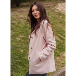 Płaszcz fuksja Płaszcze damskie Kolekcja wiosna 2020