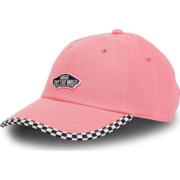 Czapka z daszkiem VANS Check It Hat VN0A3UQDUV71 Strawberry Pink