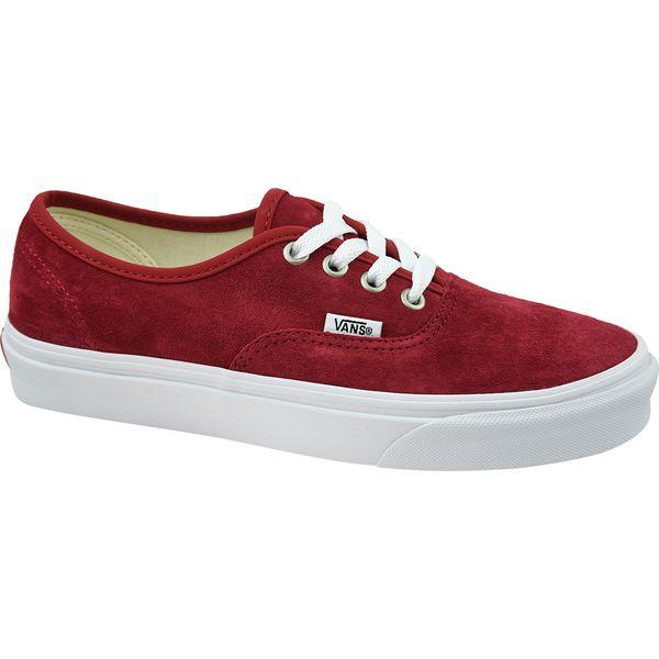 Vans Authentic VN0A38EMU5M1 buty sneakers, trampki damskie czerwone 35