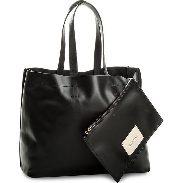 f3a4e055d25c7 Torebka CALVIN KLEIN BLACK LABEL - Effortless Shopper K60K604077 001 ...