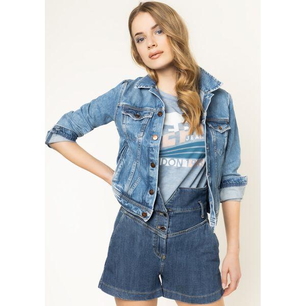 kurtki jeansowe damskie wyprzedaż