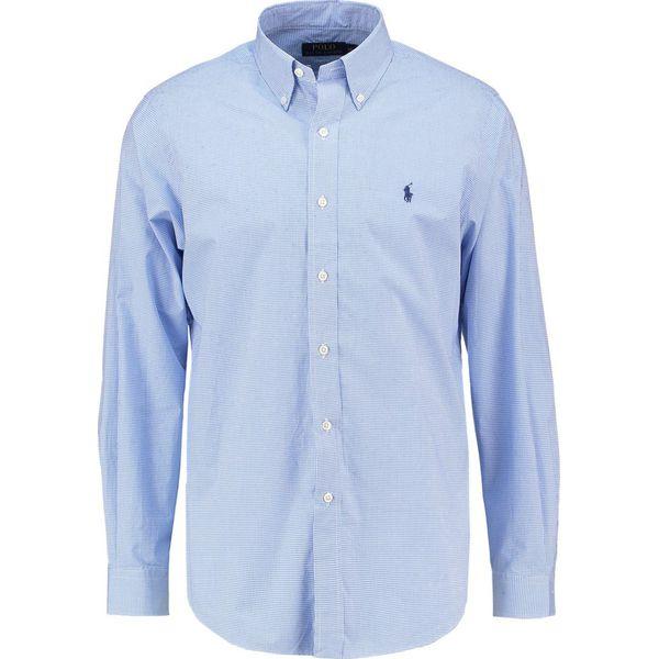 e25c058417d7 Polo Ralph Lauren CUSTOM FIT Koszula blue white - Niebieskie koszule ...