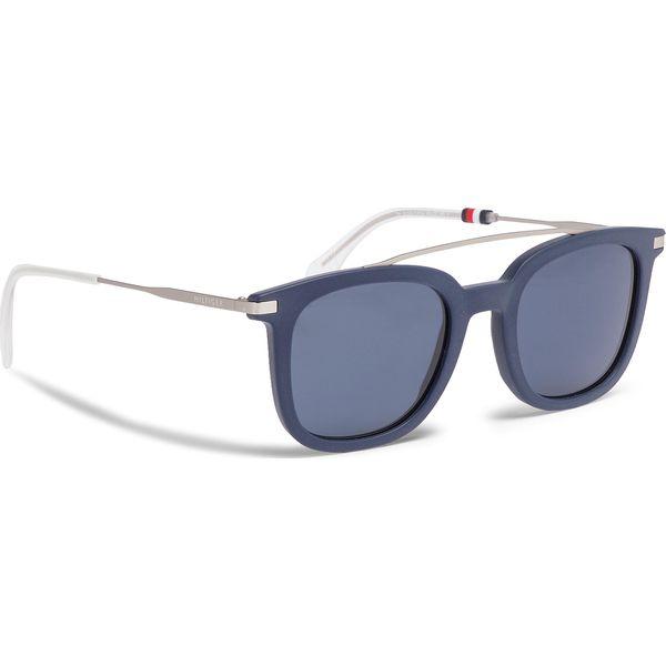 1d8363eed9cd Okulary przeciwsłoneczne TOMMY HILFIGER - 1515 S Blue PJP - Okulary ...
