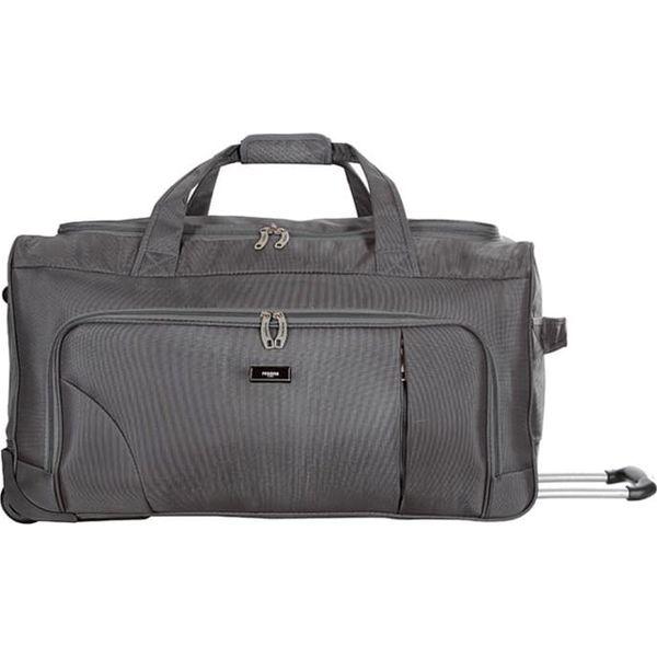 3c52c84f2138c Torba podróżna w kolorze szarym - 87 l - Szare torby podróżne ...