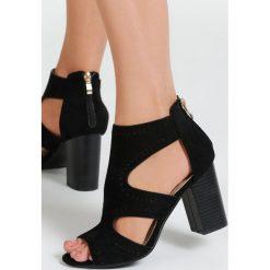 Czarne Sandały Arlo