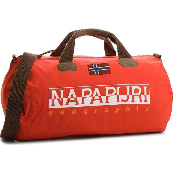 d1434d50052dd Torba NAPAPIJRI - Bering 1 N0YGOR Bright Red R89 - Brązowe torby podróżne  damskie marki Napapijri
