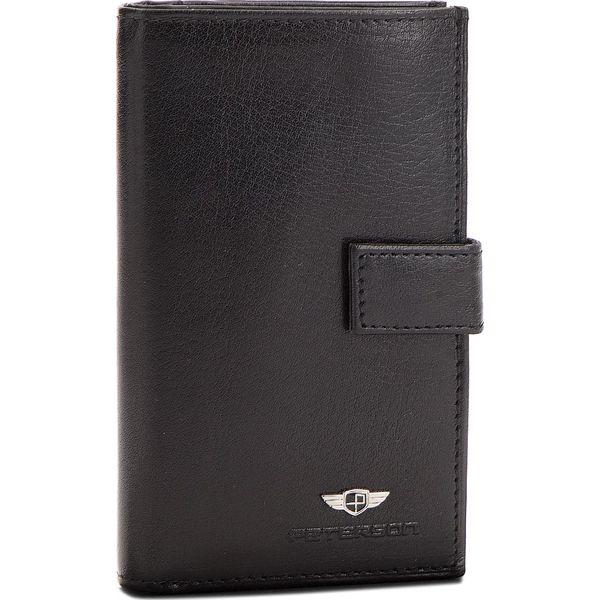 a4d523b3d7609 Duży Portfel Męski PETERSON - 630-02-01-01 Czarny - Czarne portfele ...