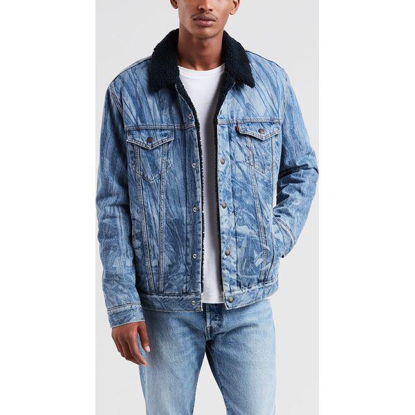 48656676edf47 Levi's - Kurtka jeansowa Justin Timberlake - Niebieskie kurtki męskie marki  Levi's®, l, z jeansu. W wyprzedaży za 349.90 zł. - Kurtki męskie - Kurtki i  ...