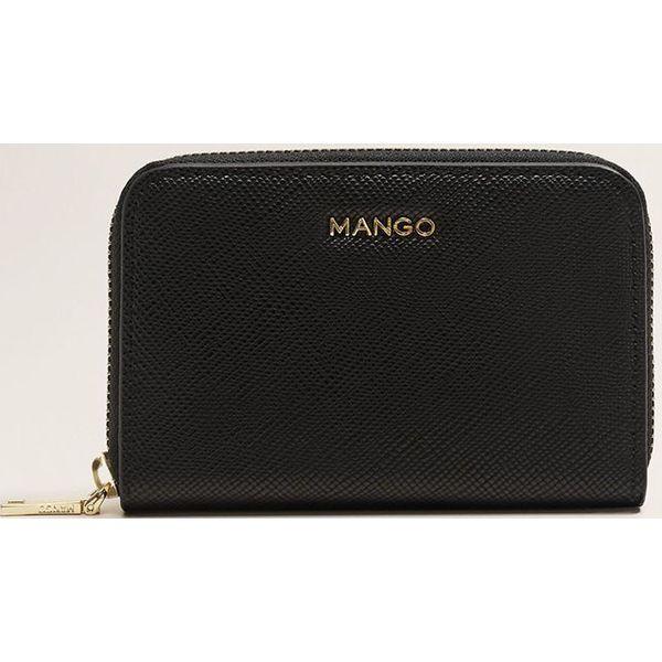 c2edc5993a659 Mango - Portfel Brais - Czarne portfele damskie marki Mango