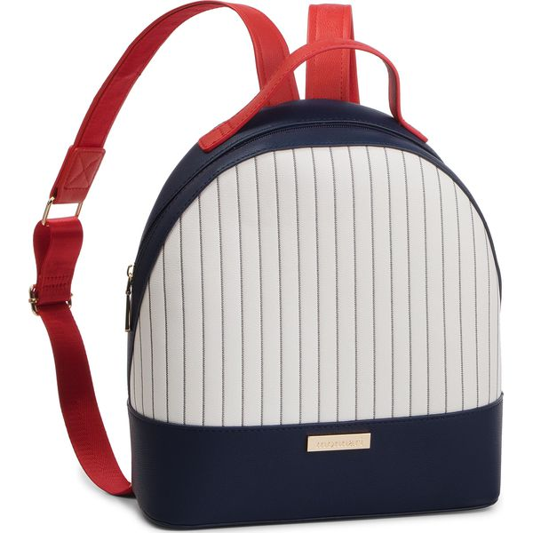 21d3b8f5120a8 Plecak MONNARI - BAG4010-013 Navy Blue - Białe plecaki damskie marki ...