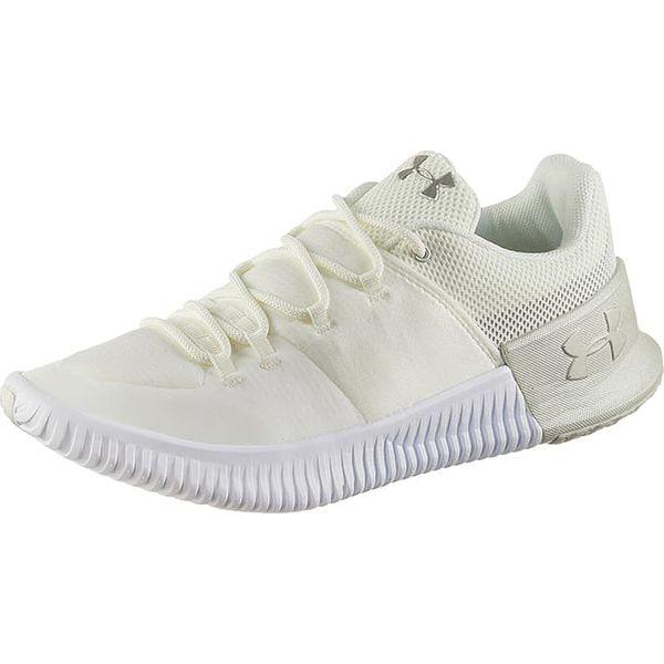 cb63f029d25de Buty sportowe w kolorze kremowym - Białe obuwie sportowe damskie marki  Under Armour