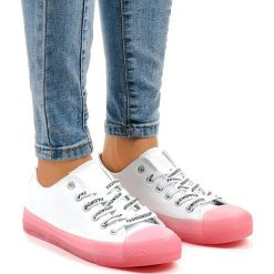 Czerwone buty na sznurówki Kolekcja zima 2020 Sklep