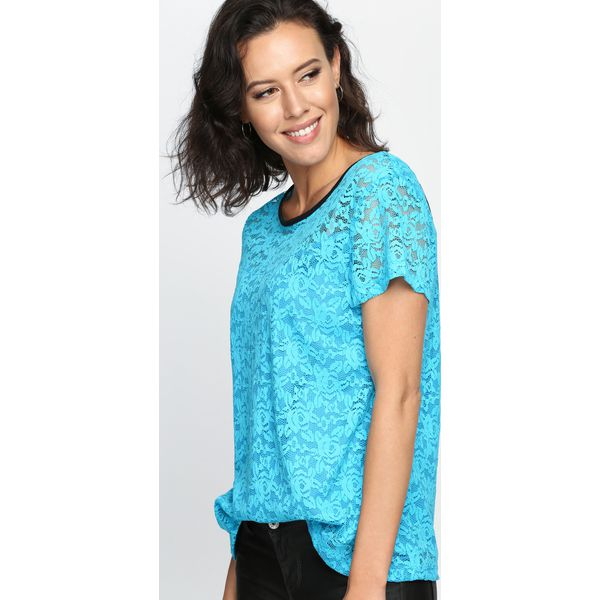 766a3efc5e Niebieska Bluzka Do Right Woman - Niebieskie bluzki damskie marki ...