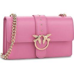 c84027992e33b Różowe torebki wizytowe damskie marki Pinko - Kolekcja wiosna 2019 ...