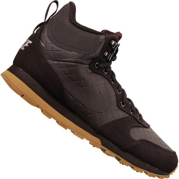 Buty Nike Md Runner 2 Suede M AQ9211 700 brązowe Brązowe
