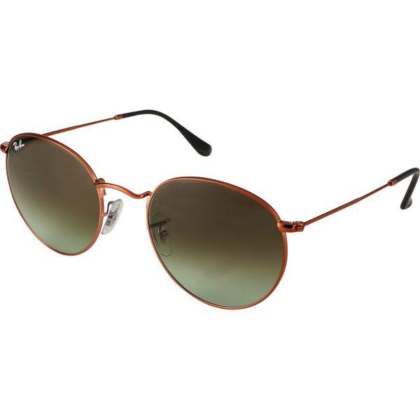 83e1d556fd5a46 Rayban Round Metal Okulary Przeciwsłoneczne Bronzecopper Brązowe