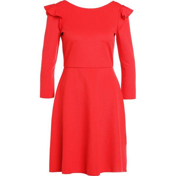 63b2e4994b MAX Co. PLATEA Sukienka letnia red - Czerwone sukienki damskie marki ...