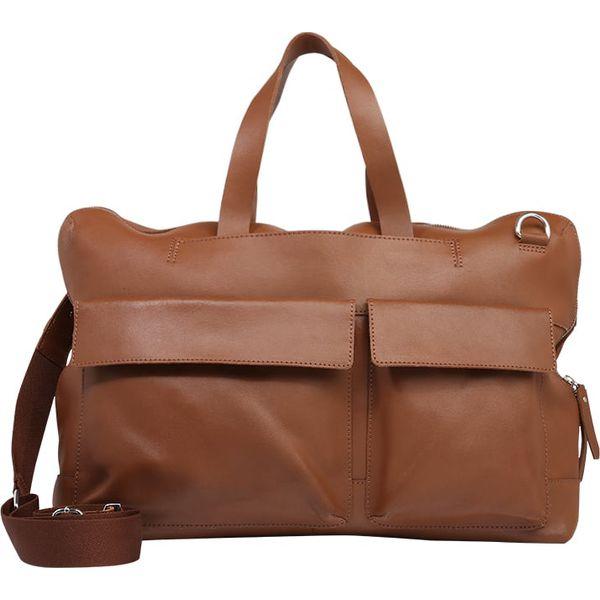 e2f0e56ea8018 Zign Torba weekendowa brown - Brązowe torby podróżne damskie marki Zign