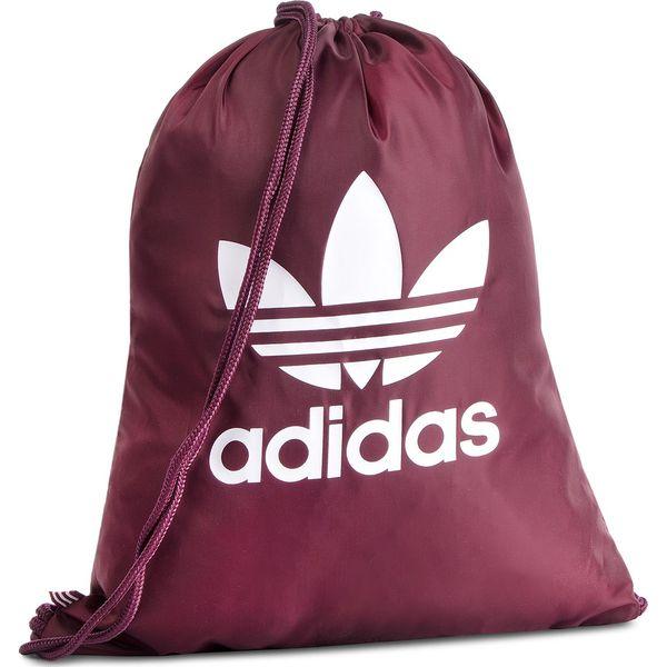 0fee3277db558 Plecak adidas - Gymsack Trefoil DV2390 Maroon/White - Plecaki damskie marki  Adidas. Za 54.95 zł. - Plecaki damskie - Torby i plecaki damskie -  Akcesoria ...