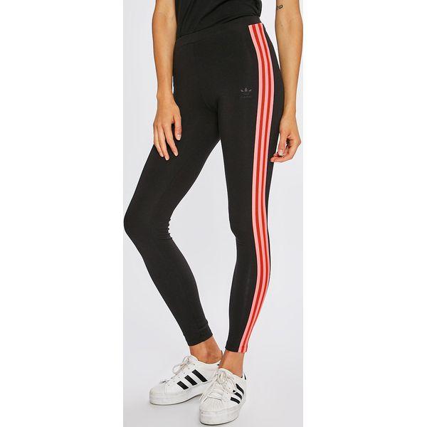 9e5362aa724181 adidas Originals - Legginsy - Szare legginsy damskie adidas Originals, z  bawełny. Za 139.90 zł. - Legginsy damskie - Spodnie damskie - Odzież damska  ...
