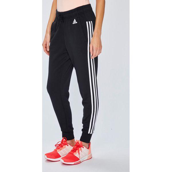 aa7d2a195 adidas Performance - Spodnie - Szare spodnie dresowe damskie adidas ...