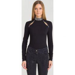 72c1285f3d4b99 Czarne body Versace Collection, z aplikacjami. Za 639.50 zł