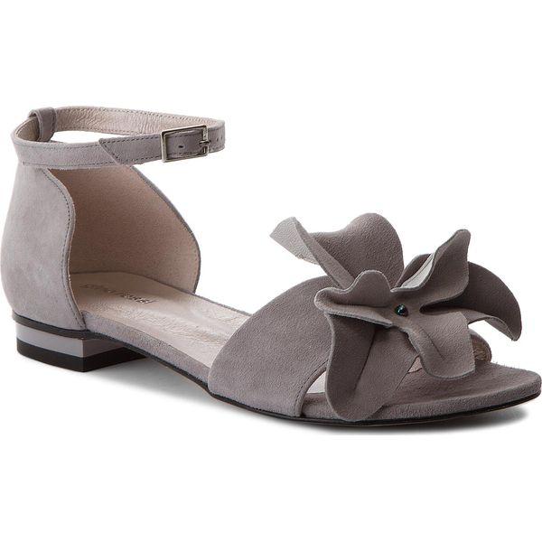 84c49aaadbf6e Sandały GINO ROSSI - Saly DNH844-AW7-0020-8300-0 09 - Szare sandały ...