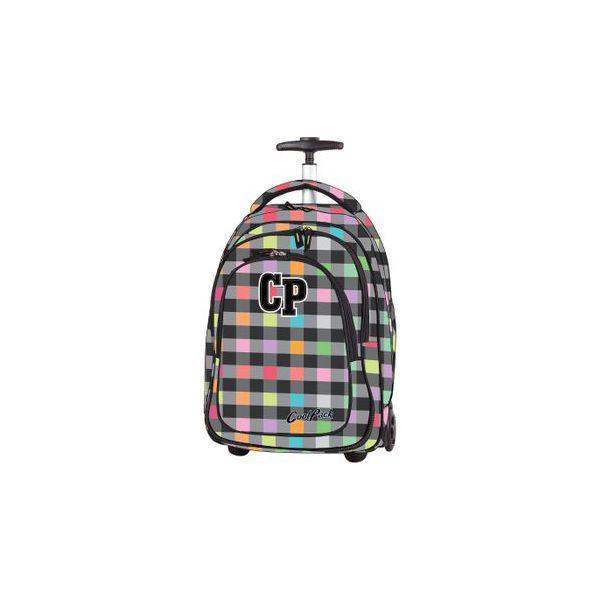 754013fc788d8 Plecak szkolny na kółkach CoolPack Target Pastel Check 1045 ...