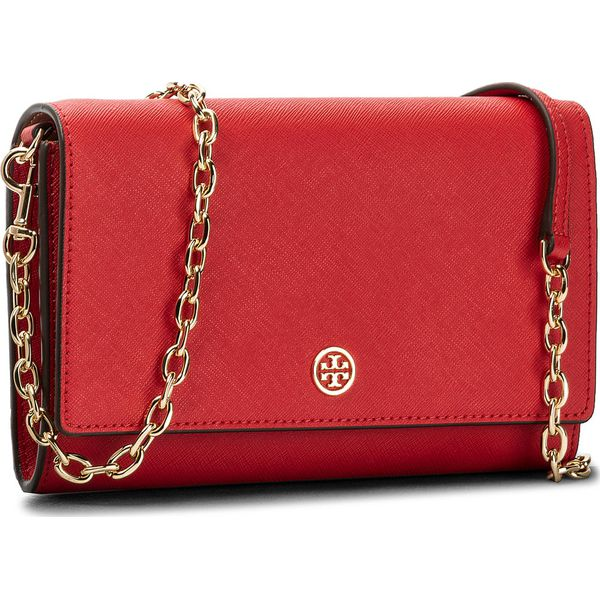f53a11c948924 Torebka TORY BURCH - Robinson Chain Wallet 45257 Poppy Orange ...