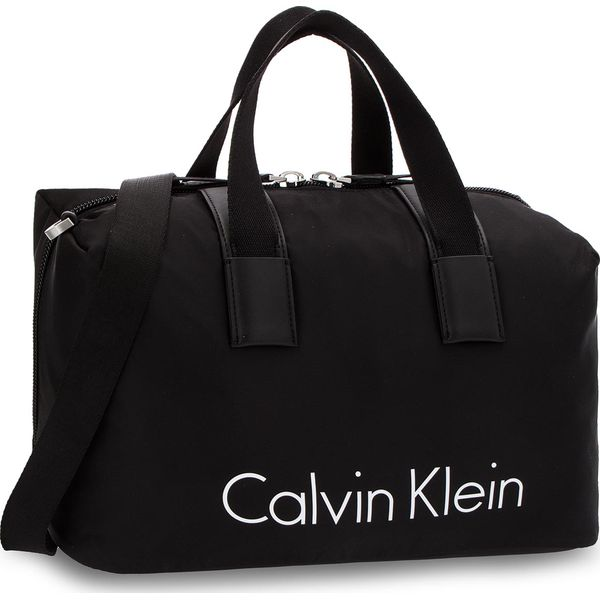 4de679052e972 Torba CALVIN KLEIN - City Nylon Duffle K60K603847 001 - Czarne torby ...