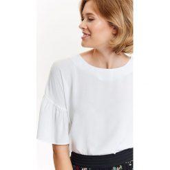 98e5a488d0 BLUZKA DAMSKA Z FALBANKA PRZY RĘKAWACH. Bluzki damskie marki TROLL. W  wyprzedaży za 59.99