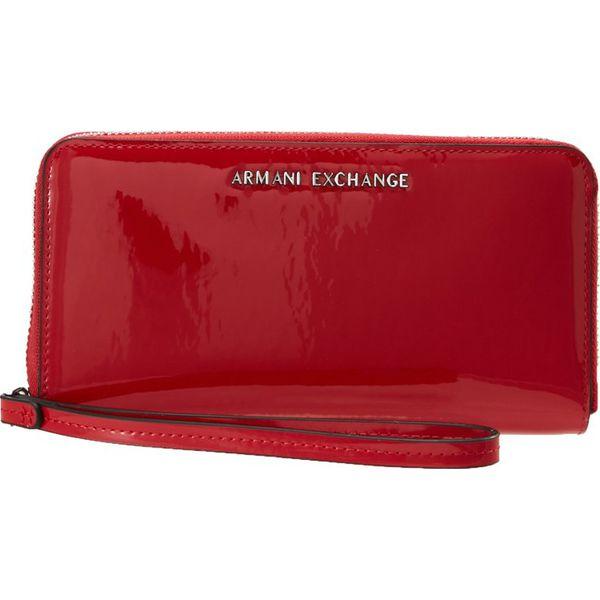 23e91700941ab1 Armani Exchange Portfel rosso red - Portfele damskie Armani Exchange. Za  439.00 zł. - Portfele damskie - Akcesoria damskie - Akcesoria - Sklep Radio  ZET