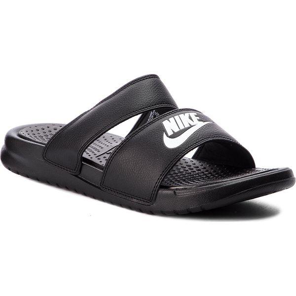 Czarne sandały damskie Nike bez obcasa