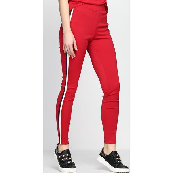 d85c5586a825 Czerwone Spodnie Dresowe Don t It - Czerwone spodnie dresowe damskie ...