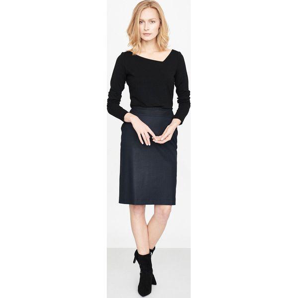 67d0a9a0de Simple - Spódnica - Szare spódnice damskie marki SIMPLE